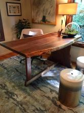 Delaware designer showcase, black walnut table